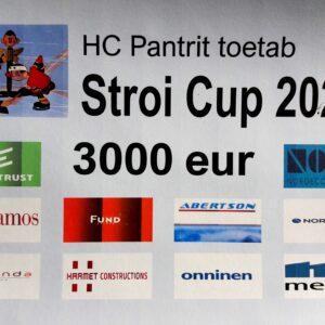 STROI CUP 2020: Jäähokikisõbrad kogusid 3000 EUR HC Panter klubi tegevuste toetamiseks!
