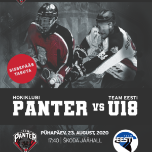 HC Panter vs Team Eesti U18