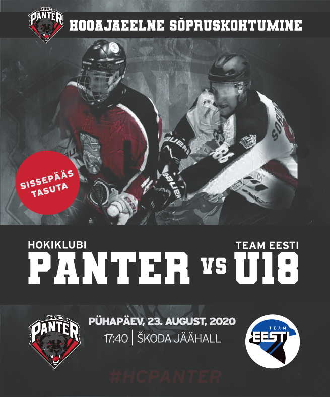 HC Panter vs Team Eesti U18