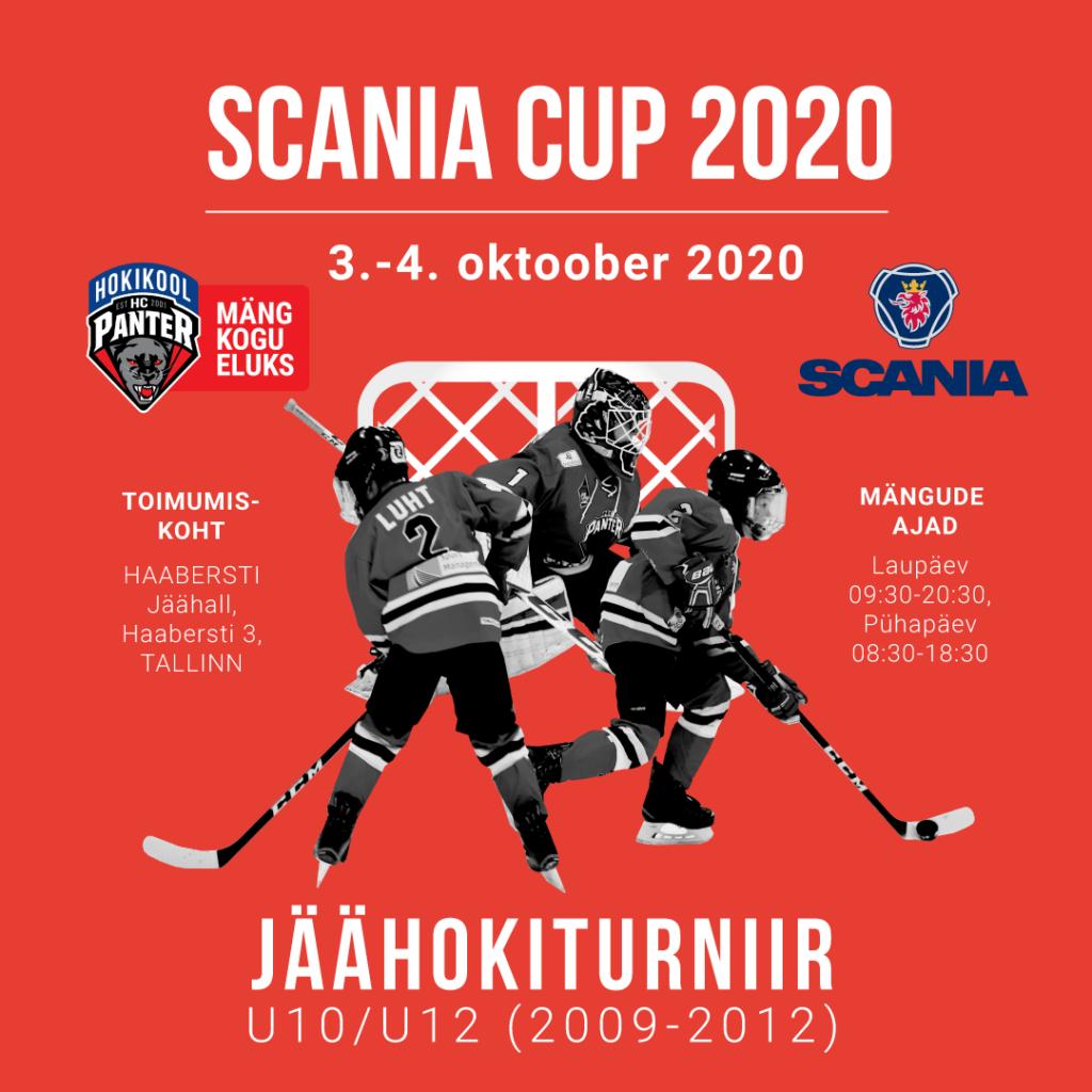 Noorte Jäähokiturniir Scania Cup 2020 U12 ja U10