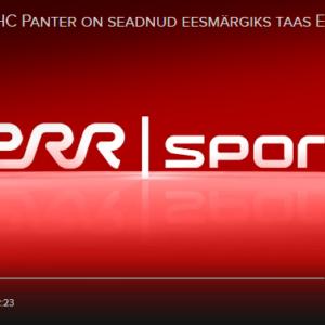 Jäähokiklubi HC Panter on seadnud eesmärgiks taas Eesti meistriks tulla