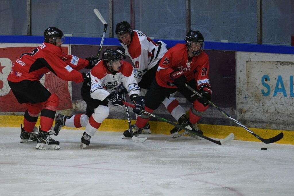 Esindusmeeskond tuli Narvast koju võiduga: Narva PSK 2-4 HC Panter (0:0,0:2,2:2)