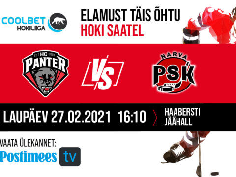 27/02/2021 HC Panter vs Narva PSK