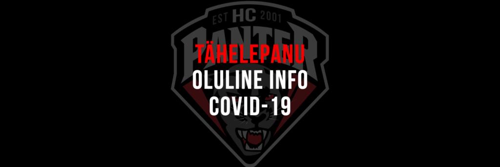 HC Panter jätkab treeningutega alates 7 detsembrist.