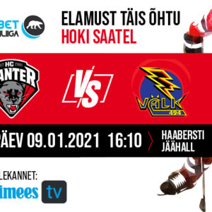 HC Panter vs Tartu Välk 494