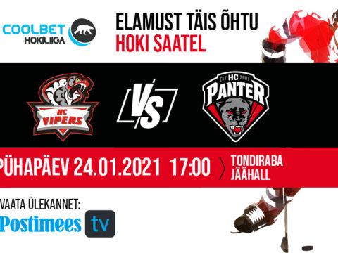 HC Vipers vs HC Panter