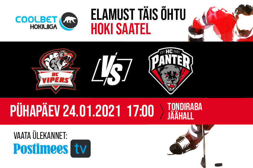 HC Vipers vs HC Panter