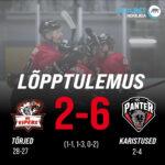HC Panter alistas HC Vipersi, lõppseisuks jäi 2-6