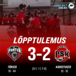 HC Panter alistas koduväljakul Narva PSK, lõppseisuks jäi 3-2
