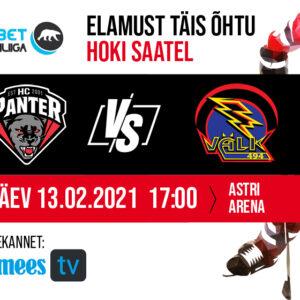 Tartu Välk vs HC Panter