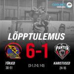 Karikamängude kolmandas finaalmängus pidi HC Panter tunnistama Tartu Välgu paremust