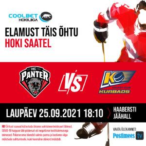 Coolbet Hokiliiga avamäng: HC Panter vs HC Kurbads
